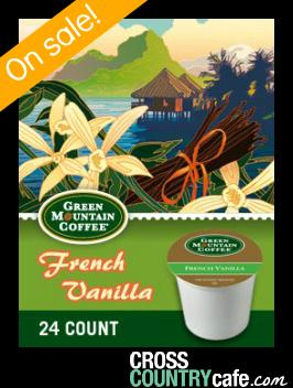 Green Mountain French Vanilla Keurig Kcup coffee