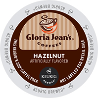 Gloria Jeans Hazelnut Keurig® K-Cup® coffee