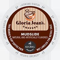 Gloria Jeans Mudslide Keurig K-cup coffee