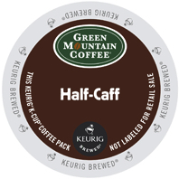 Green Mountain Half-Caff Keurig® K-Cup® coffee