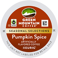 Green Mountain Pumpkin Spice Keurig®  K-Cup®  pods