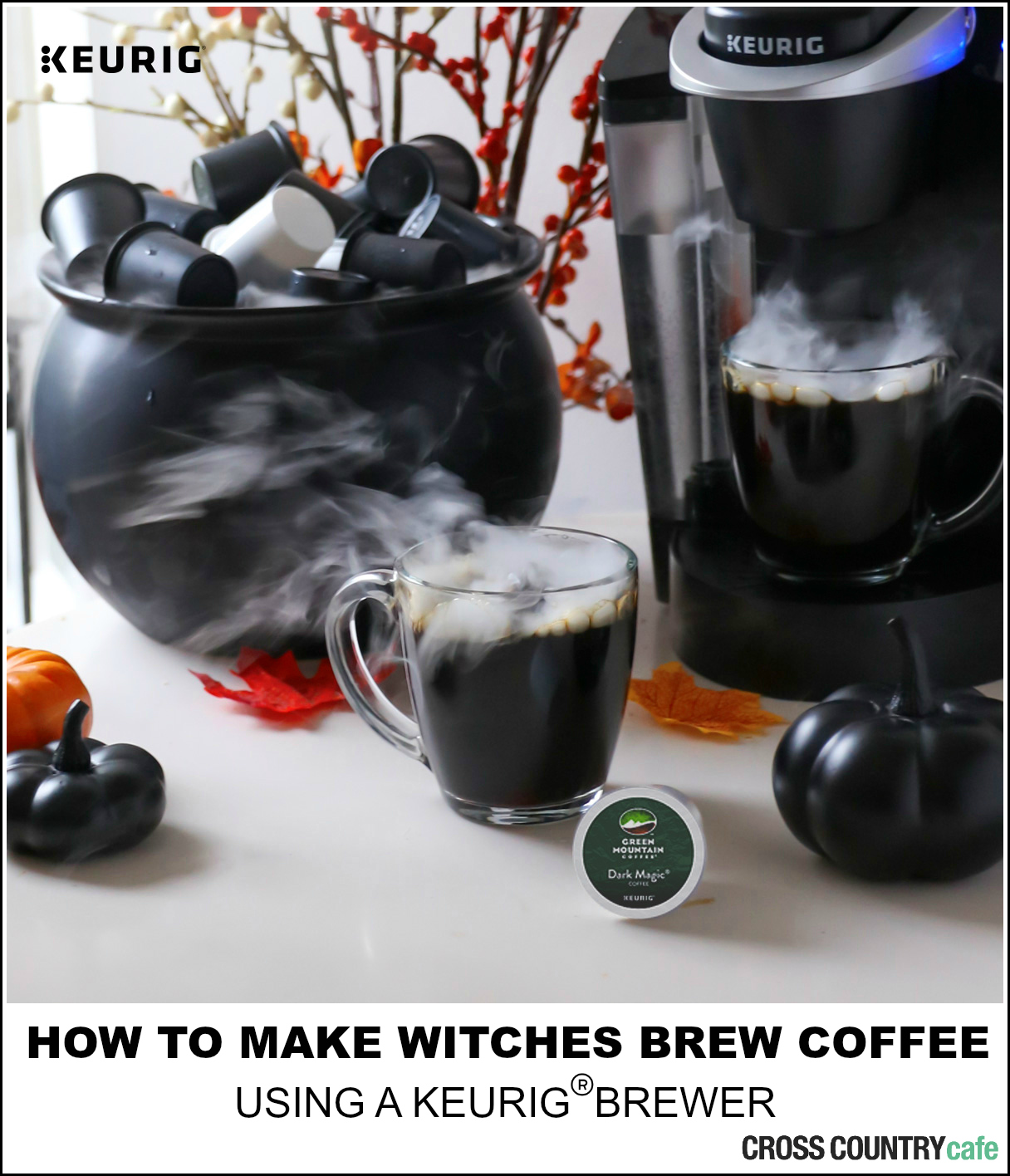 How to make witches brew coffee