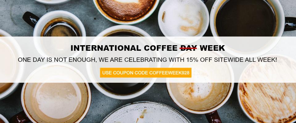International Coffee Day Keurig® K-Cup coffee sale