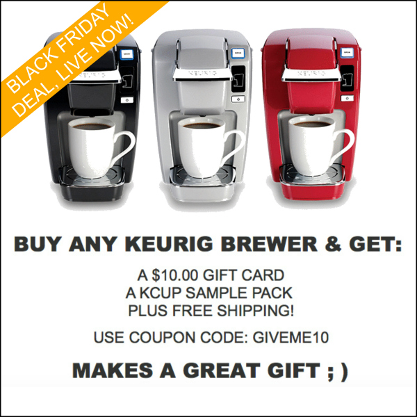 Keurig brewer Black Friday deal