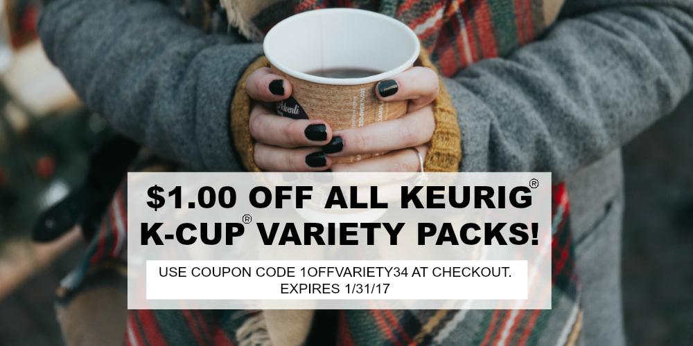 Keurig K-Cup coupon code