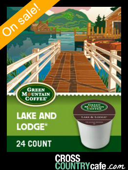 Green Mountain Lake and Lodge Keurig Kcup coffee