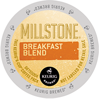 Millstone Breakfast Blend Keurig K-cup coffee