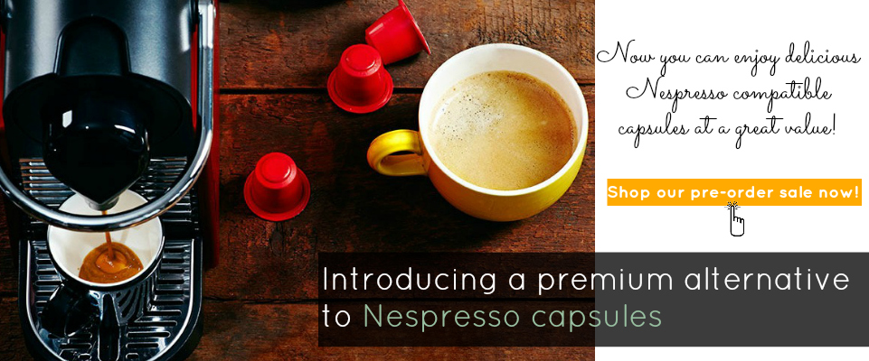 Nespresso compatible capsules