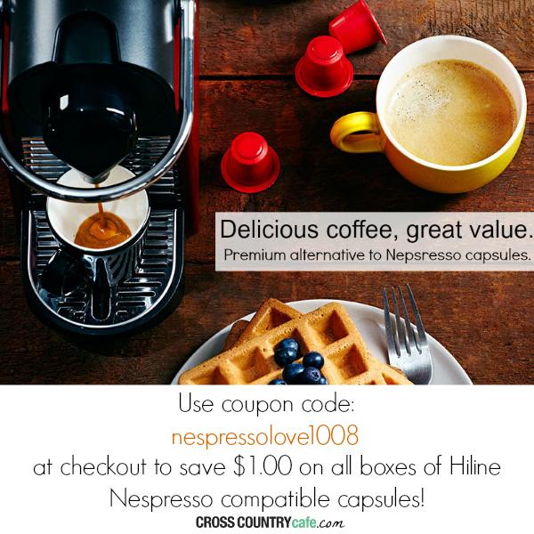 Hiline Nespresso compatible capsules