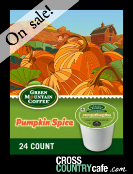 Pumpkin Spice Keurig K-cup coffee