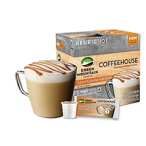 Green Mountain Coffeehouse Salted Caramel Macchiato Keurig Kcups