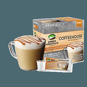 Green Mountain Coffeehouse Salted Caramel Macchiato Keurig Kcups