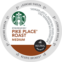 Starbucks Pike Place Keurig®  K-Cup®  coffee