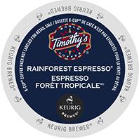 Timothy's Rainforest Espresso Keurig®  K-Cup® pods