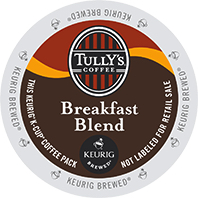 Tullys Breakfast Blend Keurig®  K-Cup®  Coffee