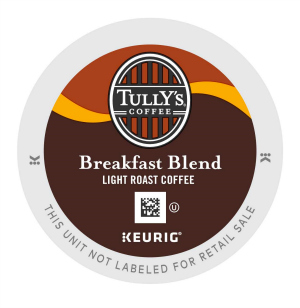 Tully's Breakfast Blend Keurig®  K-Cup coffee pods