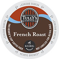 Tully's Coffee French Roast Keurig K-cups
