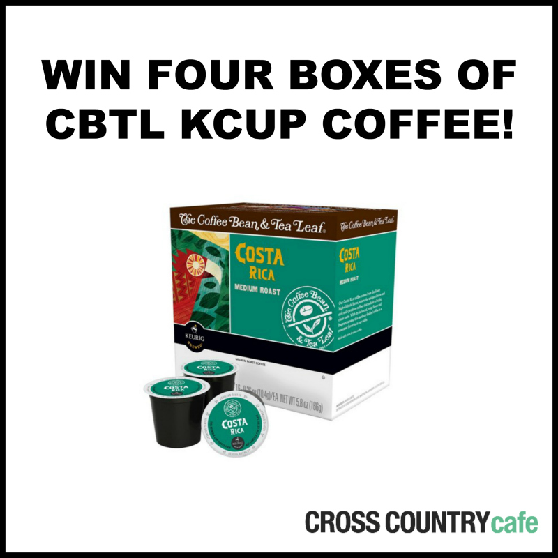 Win CBTL Kcup coffee