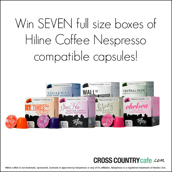 Nespresso compatible coffee capsules giveaway