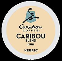 Caribou Keurig Blend Kcup coffee