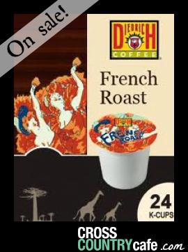 Diedrich French Roast Keurig Kcup Coffee
