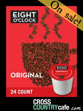 Eight O'Clock Coffee Original Roast Keurig Kcup Coffee