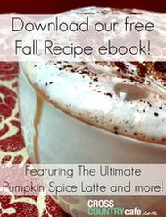 Free Fall Coffee Recipe Ebook