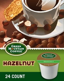 Hazelnut Keurig Kcup coffee