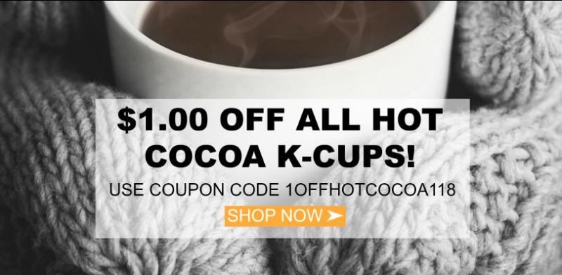 Keurig® K-Cup® hot cocoa sale