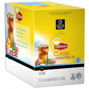 Lipton Classic Brew Over Ice Tea K-Cup�  pods