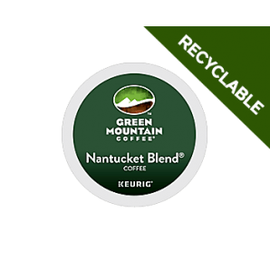 Green Mountain Nantucket Blend Recyclable Keurig Kcup coffee