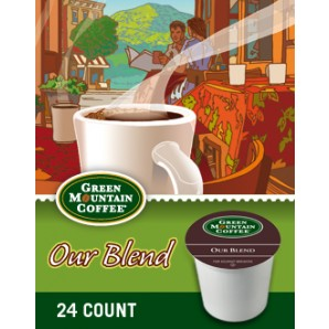 Green Mountain Our Blend Keurig Kcup coffee
