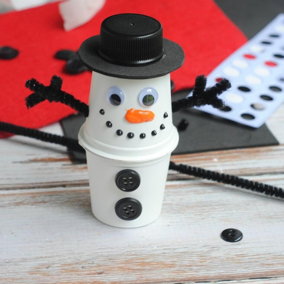 K-Cup® Pod Christmas Up-cycling Craft