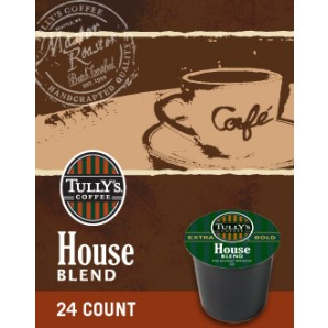 Tully's House Blend Keurig Kcup coffee