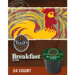 Tullys Breakfast Blend Keurig Kcup coffee