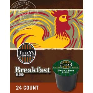Tullys Breakfast Blend Keurig Kcup coffee