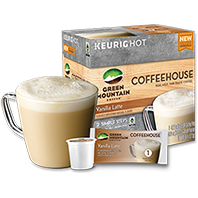 Coffeehouse Vanilla Latte Keurig® K-Cup® coffee