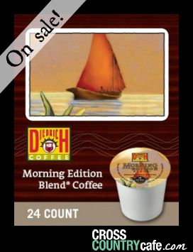 Diedrich Morning Edition Keurig Kcup coffee
