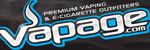 Vapage                                   Logo Banner Black