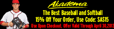 Akadema baseball Deals