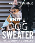 knit a custom fit dog sweater