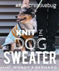 knit a custom fit dog sweater
