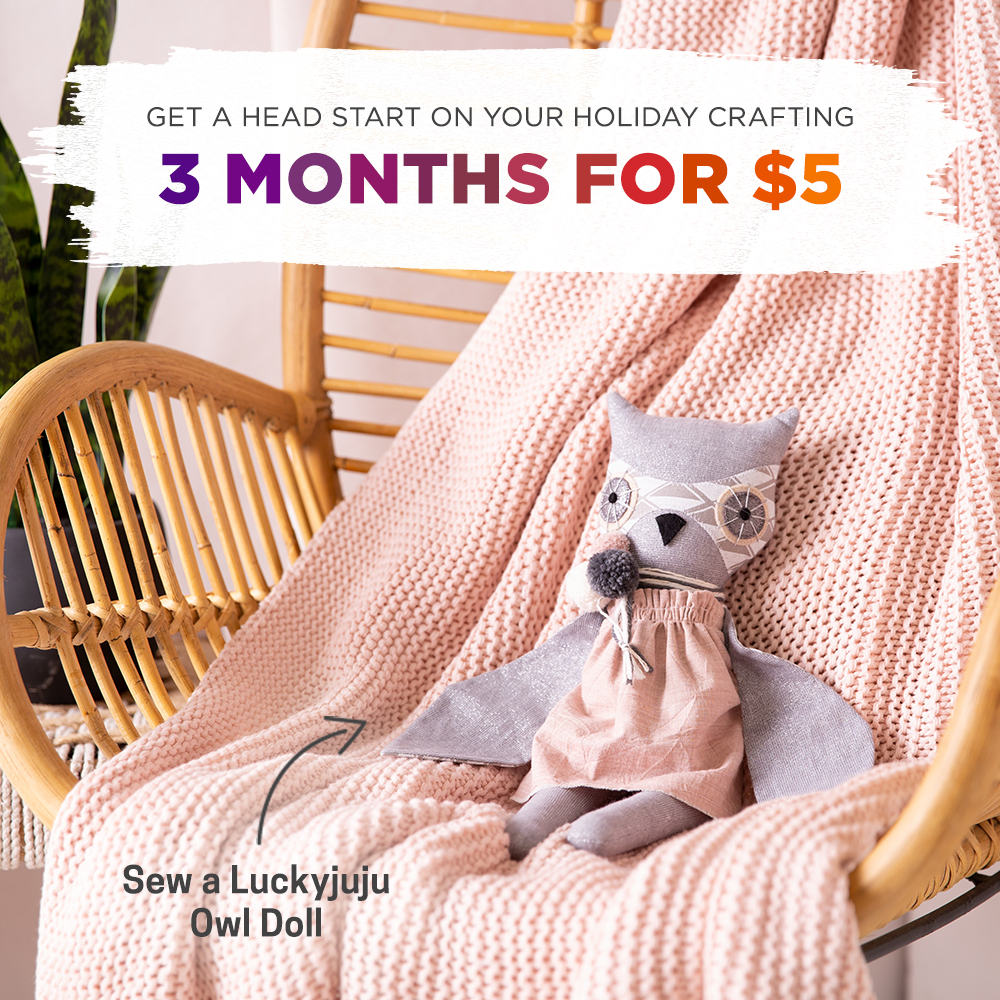 Get 3 months for $5