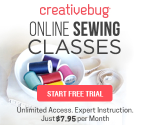 CreativeBug Sewing 300x250