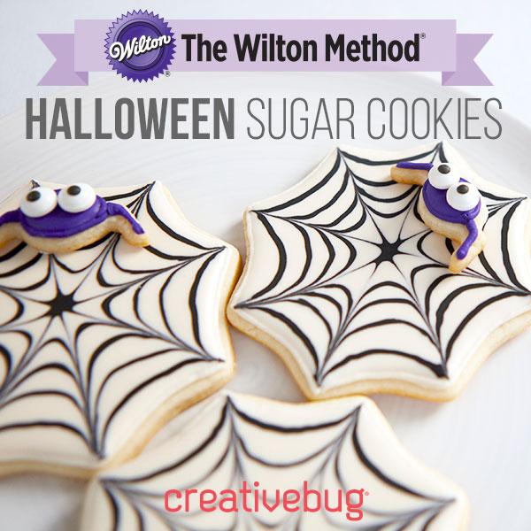 Halloween sugar coockies classes by creativebug