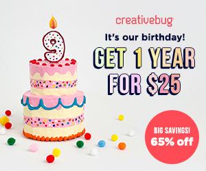 Creativebug Sale