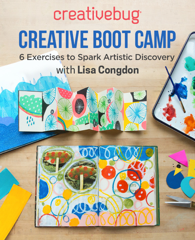 Creative Boot Camp: Spark Your Artistic Discovery with Lisa Congdon