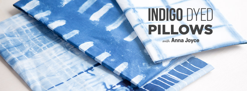 Make Indigo Dyed Pillows