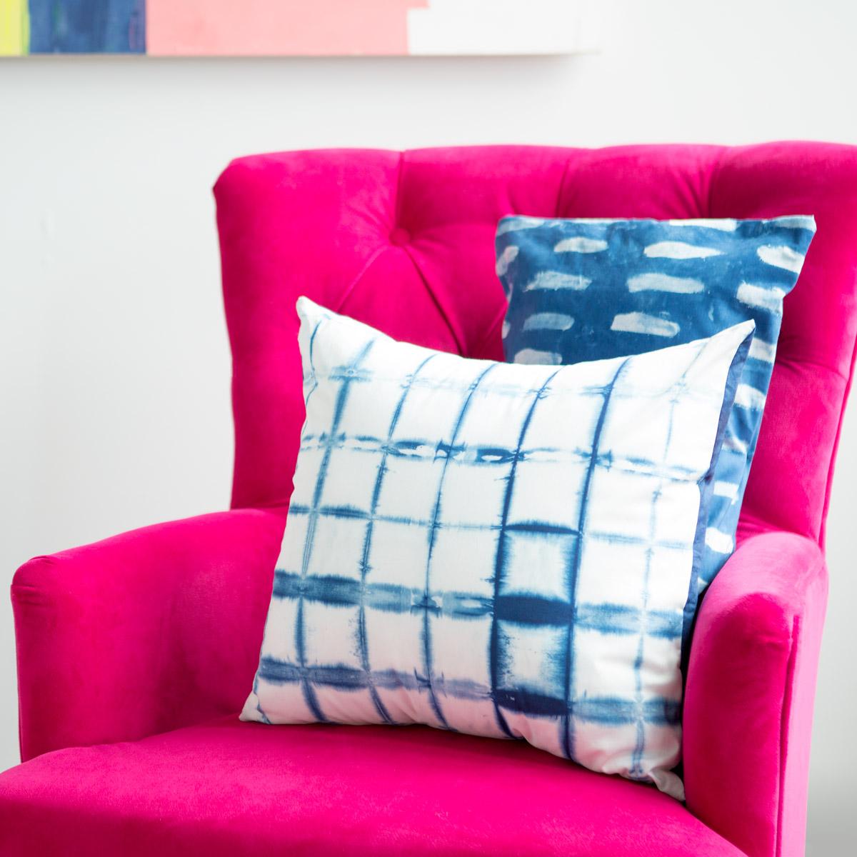 Make Indigo Dyed Pillows