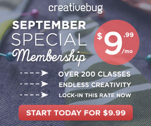 $9.99 per month September Special